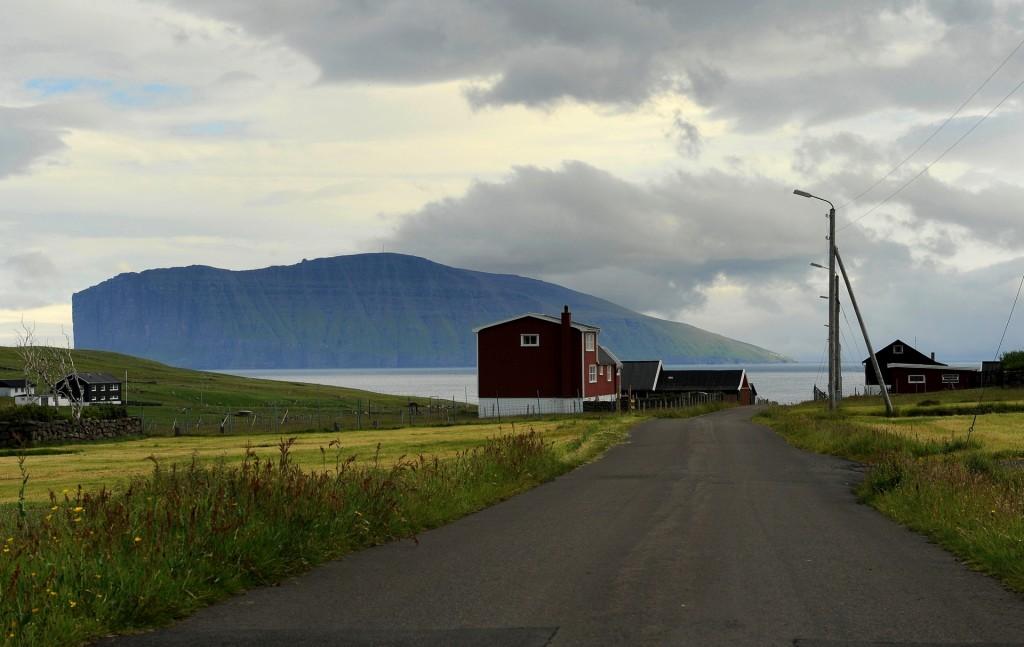 Viðareiði, un tipico villaggio delle isole più a nord