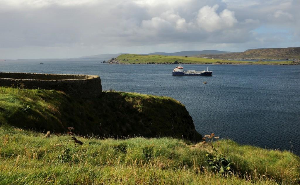 """""""THE KNAB"""" offre anche magnifici panorami verso il mare aperto"""