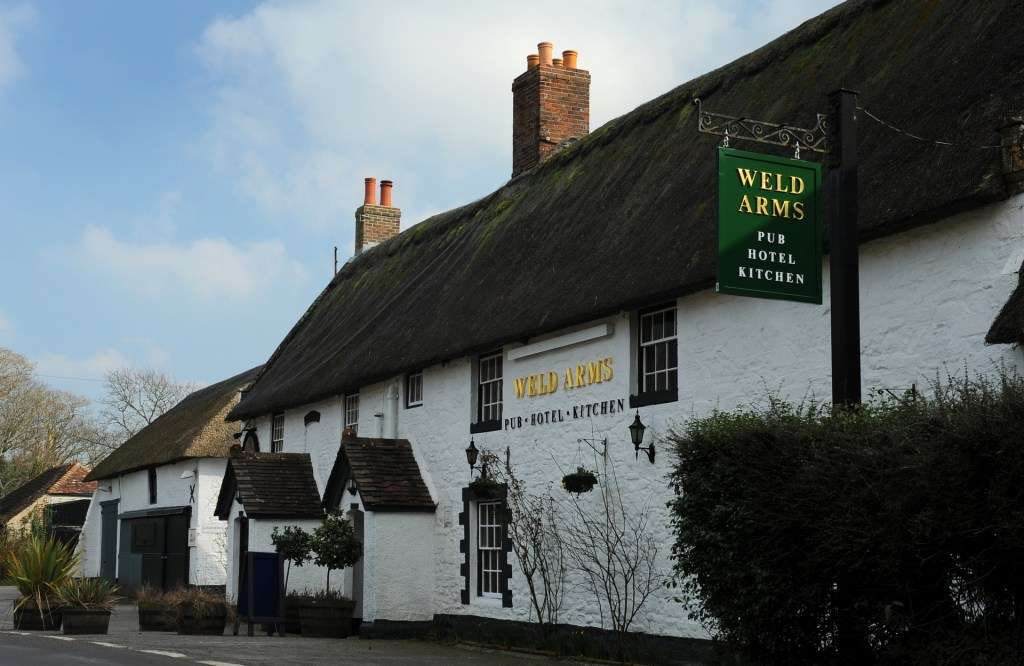 THE WELD ARMS, l'unico pub presente a EAST LULWORTH