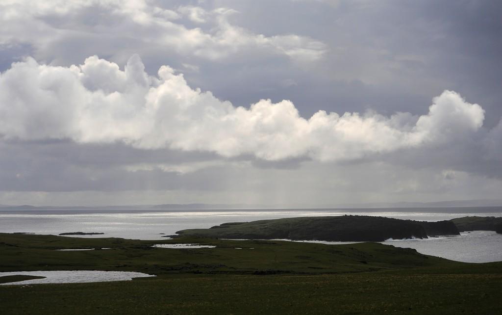 Un tipico panorama di NORTHMAVINE
