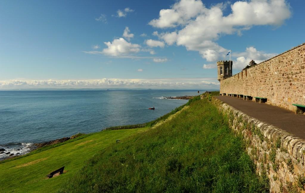 Uno dei panorami sul Mare del Nord che si aprono da CRAIL