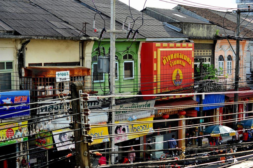 Impianti elettreci a Phuket Town