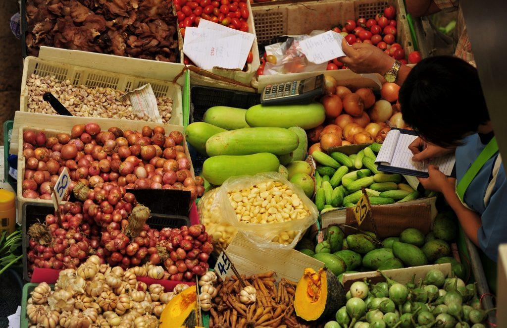 I colori dei mercati