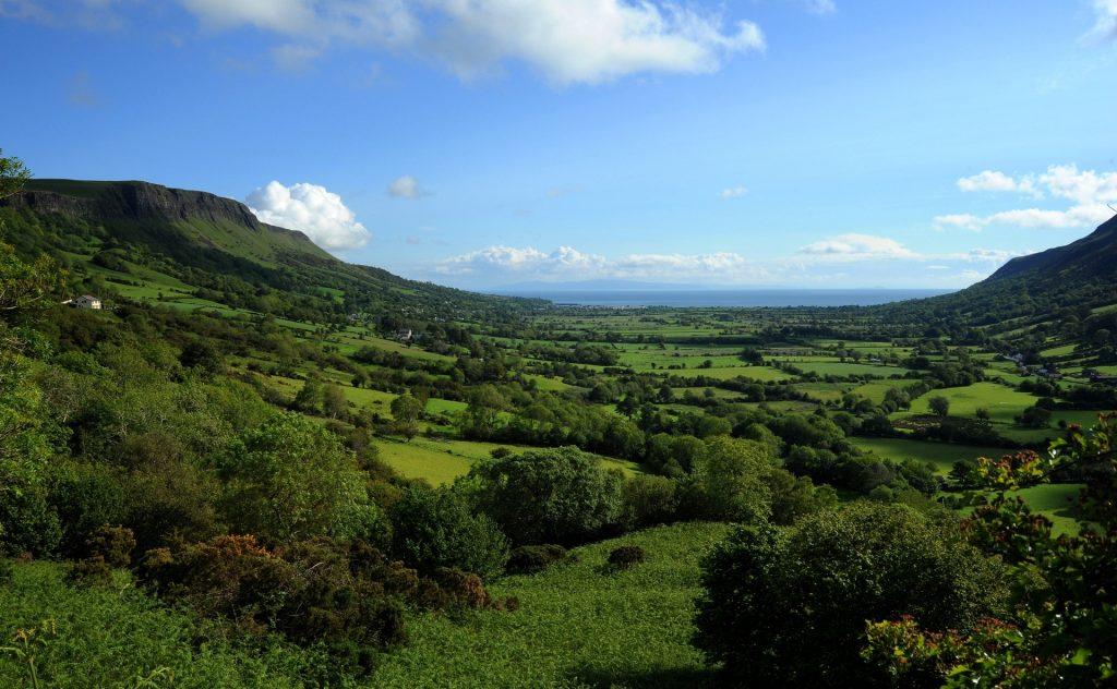 Vista panoramica su GLENARIFF