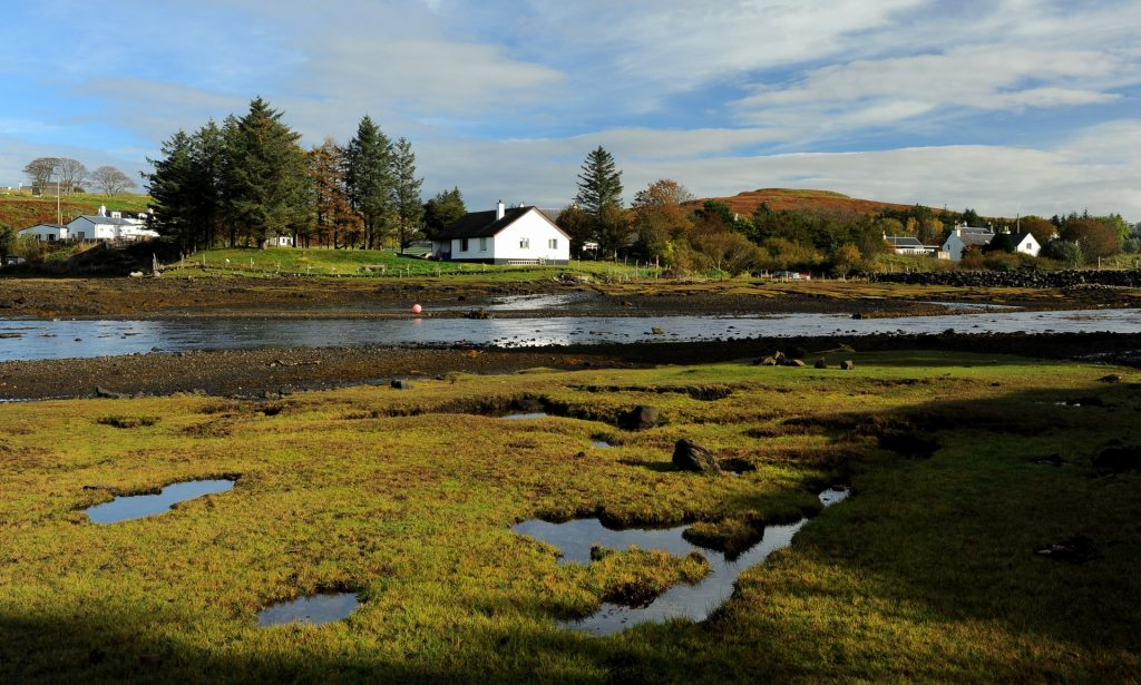 Un cottage ai margini del villaggio