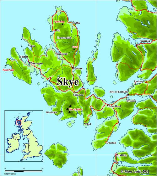 Il NEIST POINT è il punto più a ovest dell'isola di SKYE