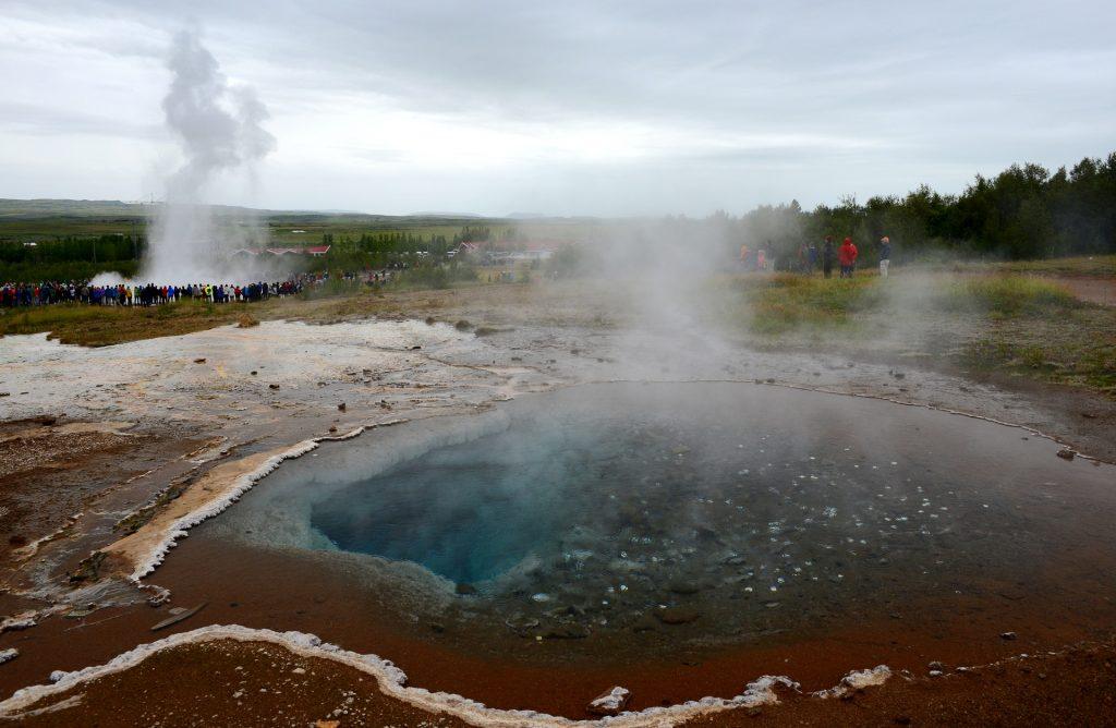 La zona geotermale di GEYSIR