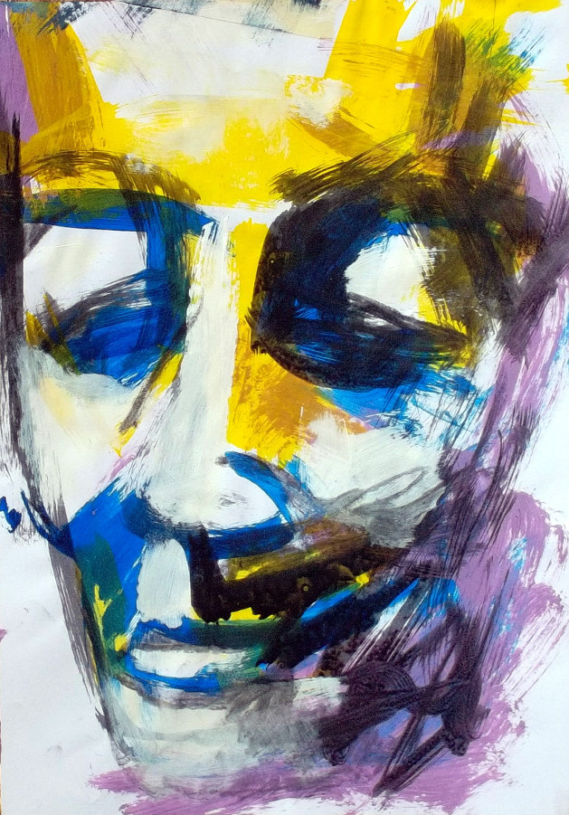 Archetipal face. Sold