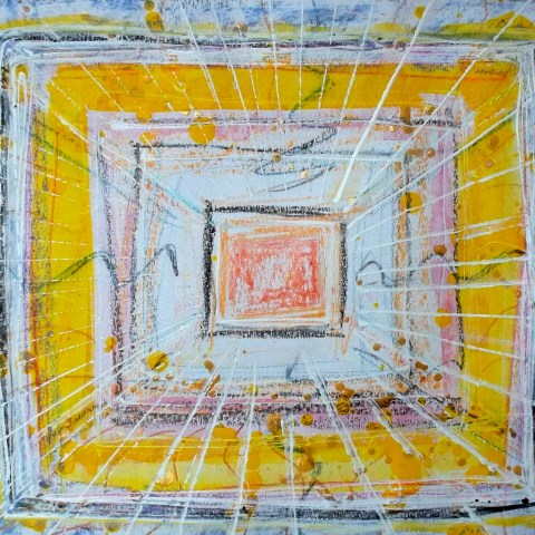 Yellow square 40 x 50