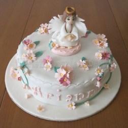 torta comunione primule angioletto