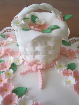 Torta con primule