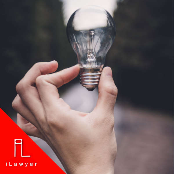 hand holding a light bulb outside-non-disclosure agreement
