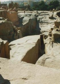 The unfinished obelisk