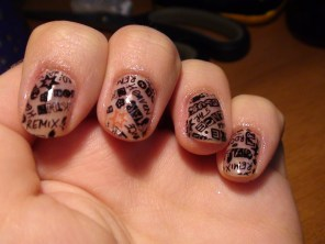stamp nails