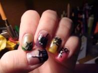 hallowen nails
