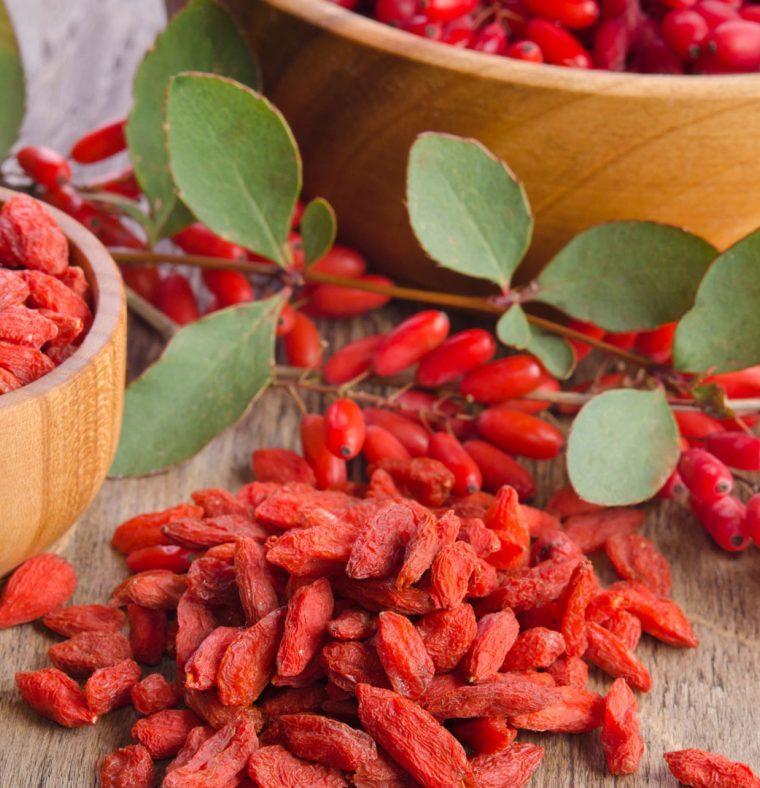 Super alimenti: i benefici delle bacche di Goji