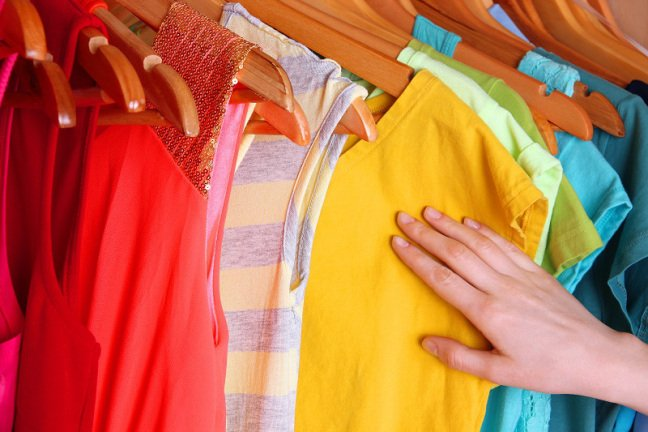 La cromoterapia nell'abbigliamento