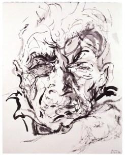 by Maggi Hambling, Ink and watercolour, 2000