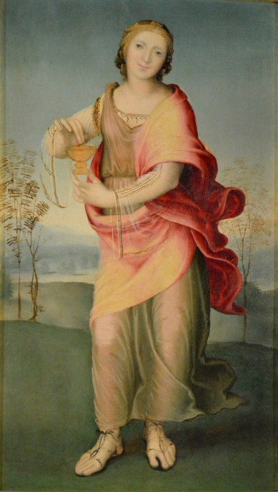 Domenico Beccafumi, Artemisia, Siena, coll. Chigi Saracini