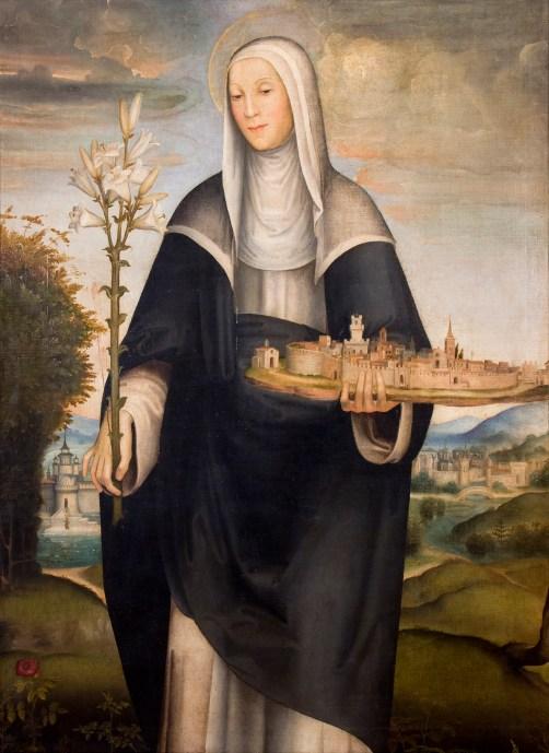 Domenico Beccafumi, S. Agnese Segni, Montepulciano, Museo Civico, Pinacoteca Crociani