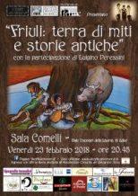 Locandina Friuli terra di miti e storie antiche