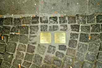 """Stolpersteine. """"pietra d'inciampo"""", Padova"""