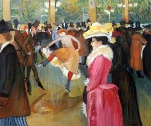 Ballo al Moulin Rouge, Toulouse Lautrec. Vita nella Bella Époque