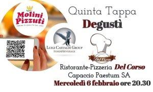 Degustì procede con la sua V tappa al Ristorante-Pizzeria Del Corso