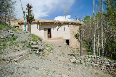 Typical house in Badakshan