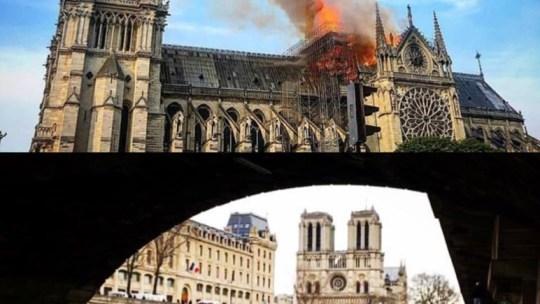 Il battesimo di fuoco di Notre Dame e le acque dell'Eufrate