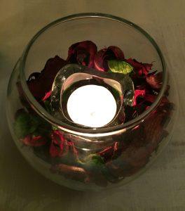 Ristorantino 1921 candela