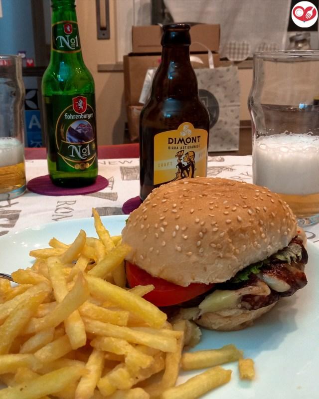 Frico Veg Burger