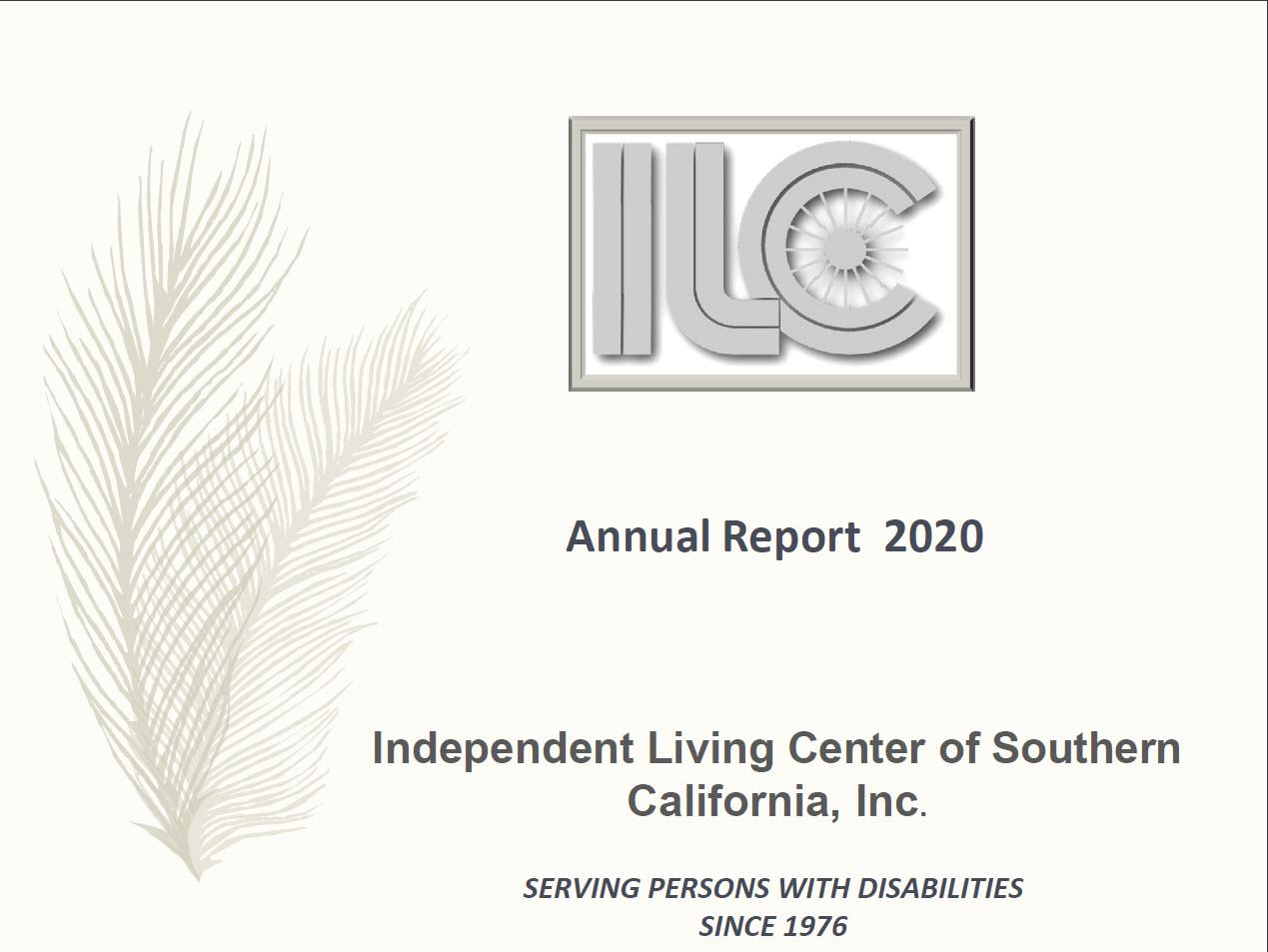 ILCSC 2020 Annual Report