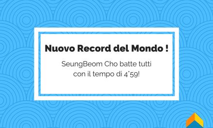 SeungBeom Cho Batte Tutti! Nuovo Record del Mondo