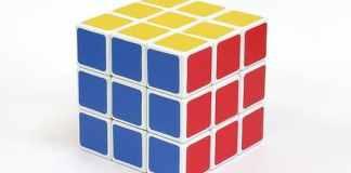 Colori del Cubo di rubik - cubo risolto