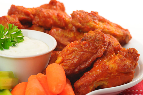 Picture of wings!