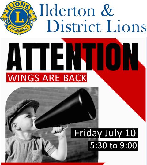 Wing night july 10