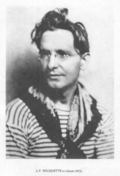L.F. Rouquette en Islande 1922