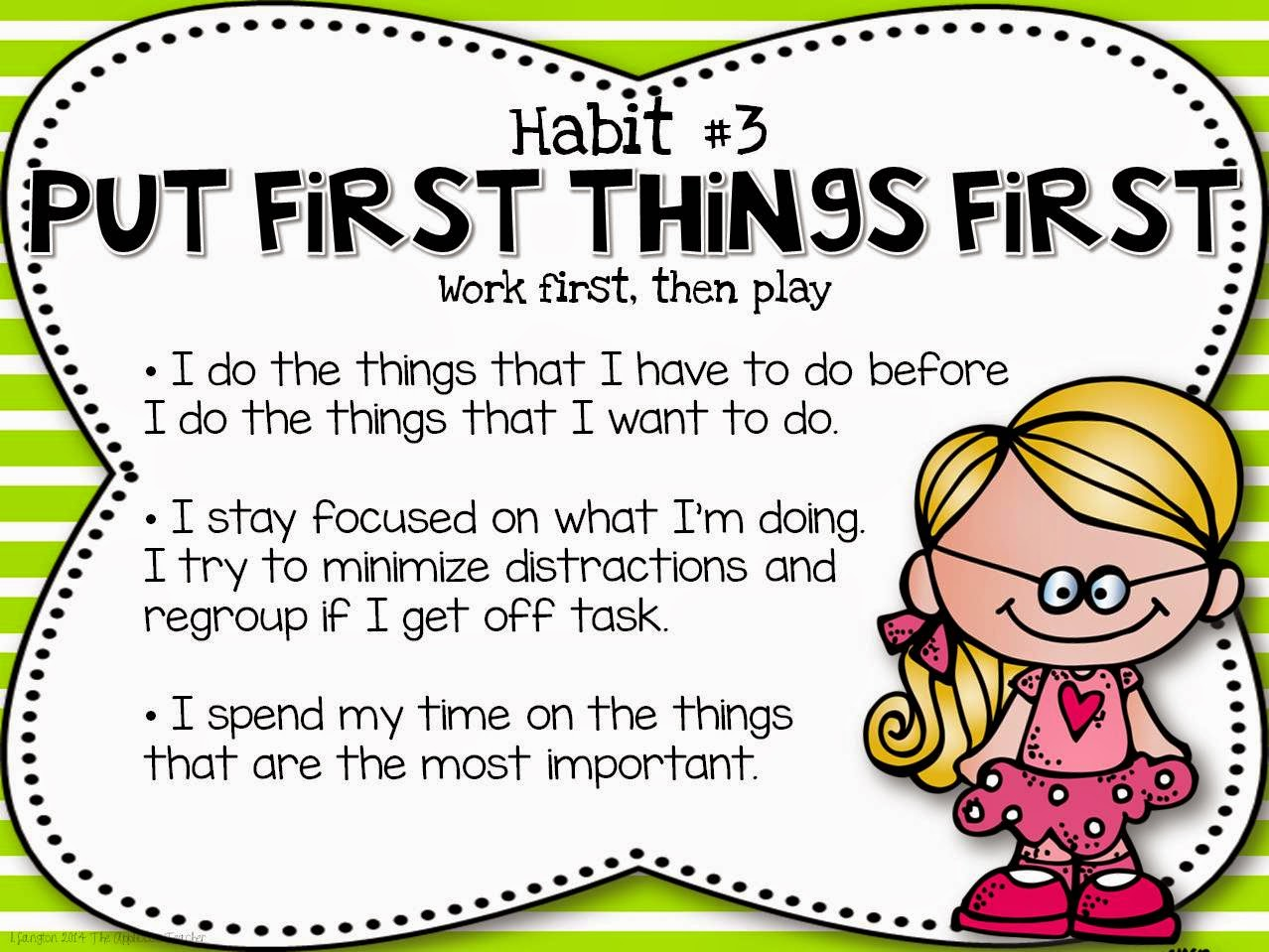 Exploring The 7 Habits Put First Things First
