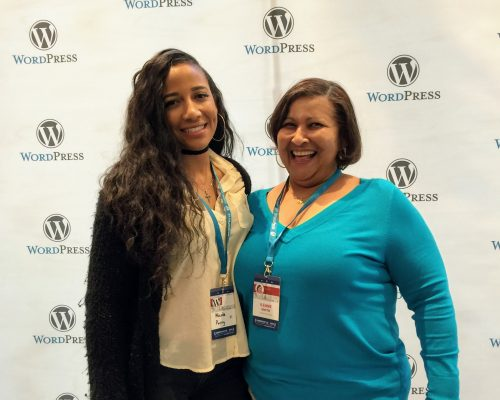 Ms Ileane and her daughter Nicole Purvy