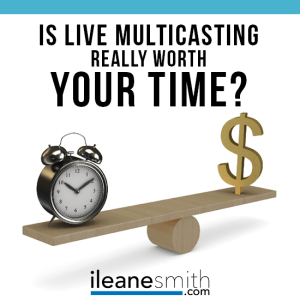 Is Live Multicasting Really Worth Your Time