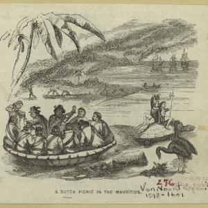 Picnic hollandais à l'île Maurice