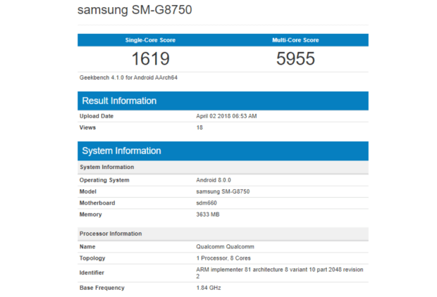 Samsung неожиданно добавила Galaxy A6 на официальный сайт