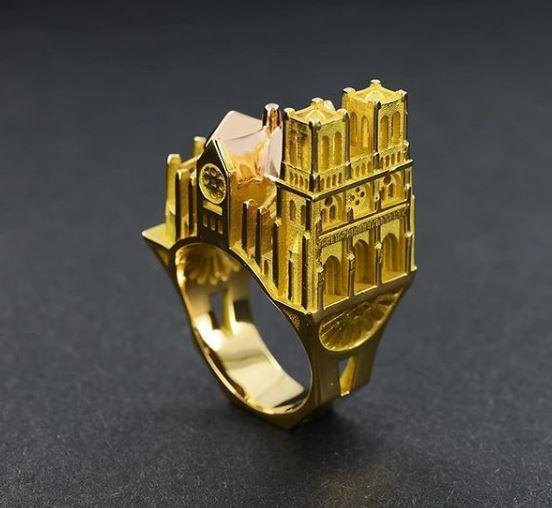 bague palais Notre-Dame par Tournaire