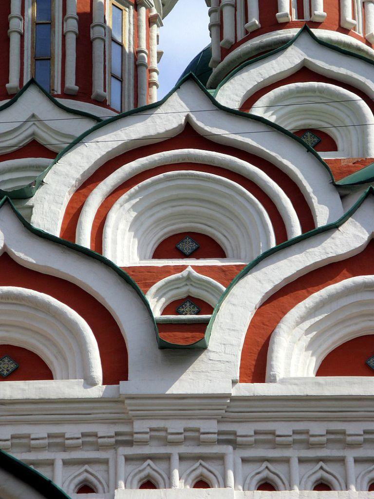 kokochnik de l'eglise sainte trinité de nikitniki à Moscou