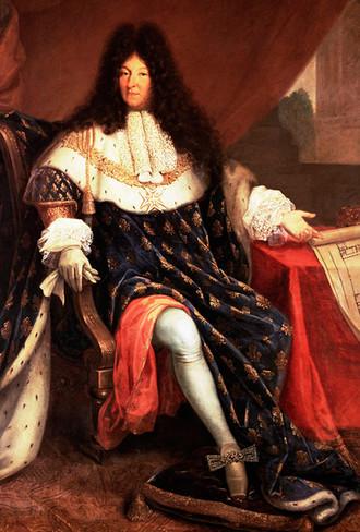 Louis XIV boucle et aile à moulins 1 - Henri Testelin- 1668
