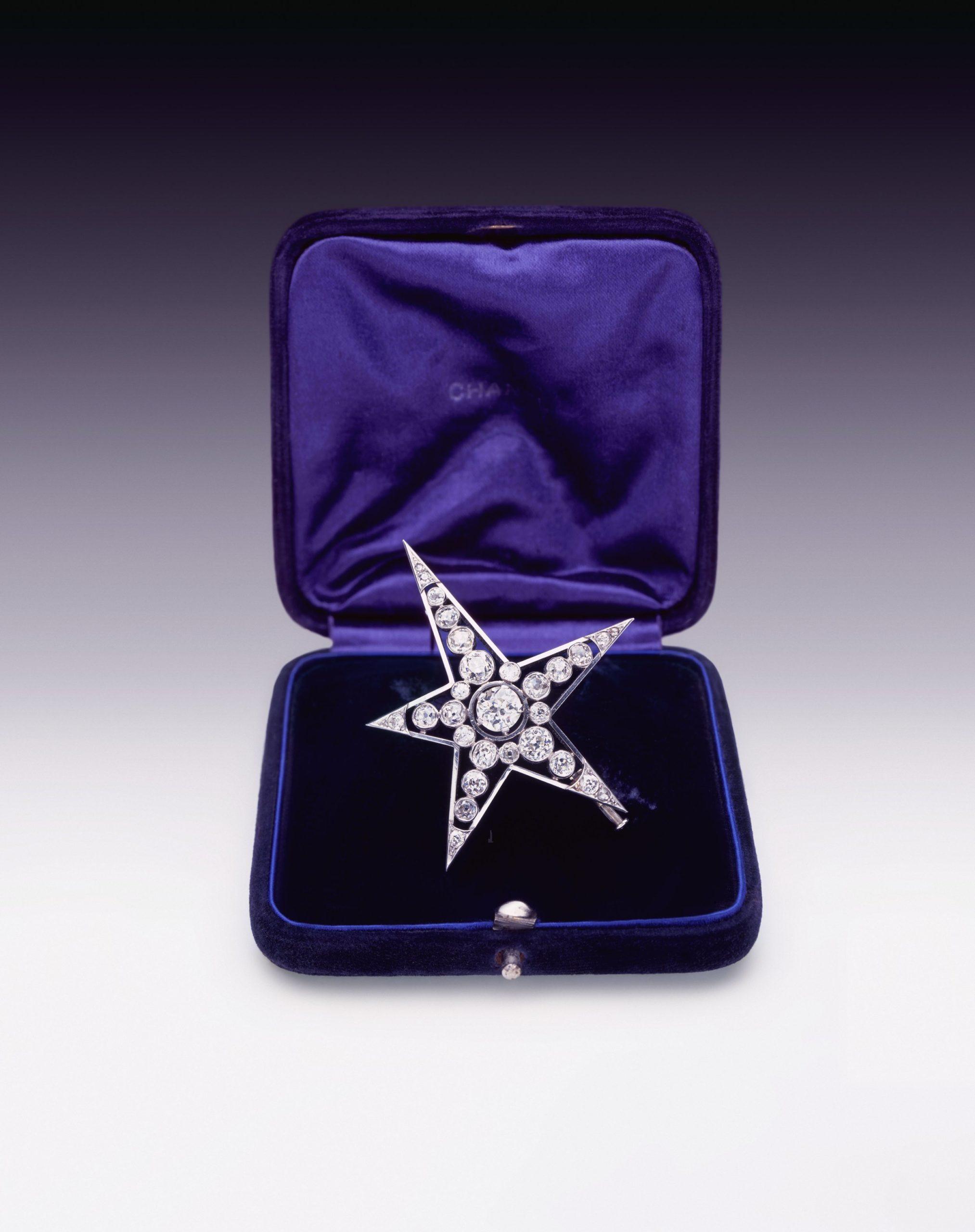 1932 «Exposition de diamants» l'unique de Gabrielle Chanel