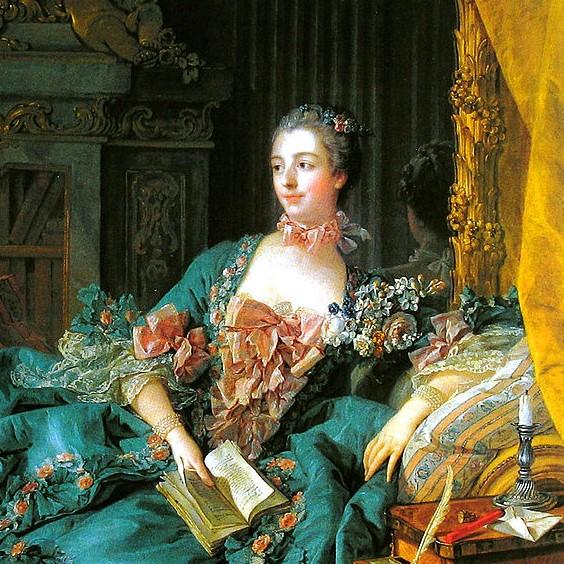 Madame de Pompadour par François Boucher