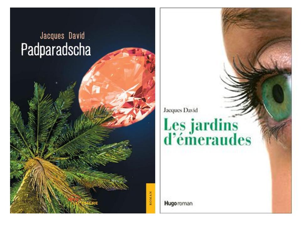 livre Padparadsch de Jacques David