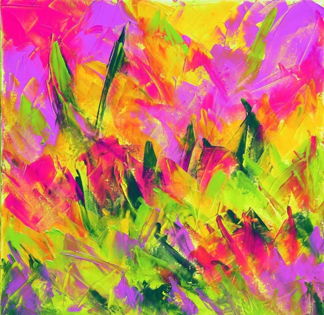 Première toile, 'Éveil de Printemps'